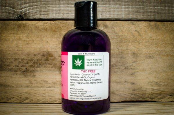 4oz RM CBD Massage Oil Right