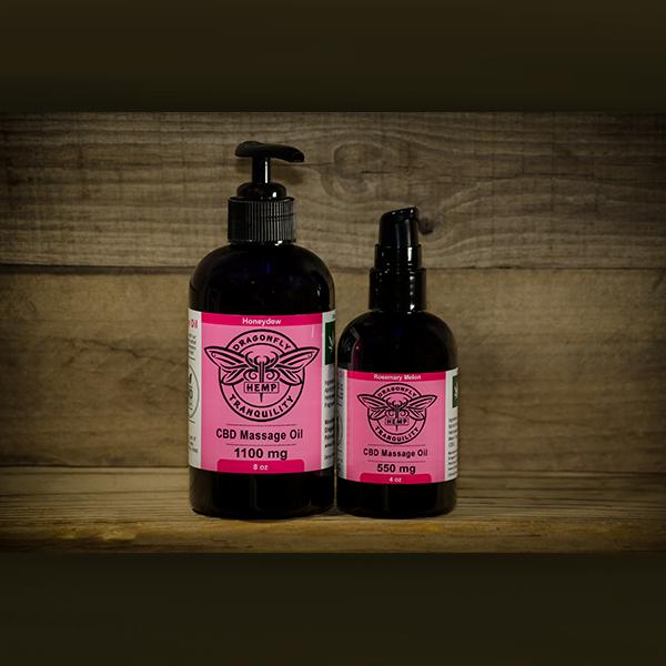 CBD Massage Oil 4oz & 8oz